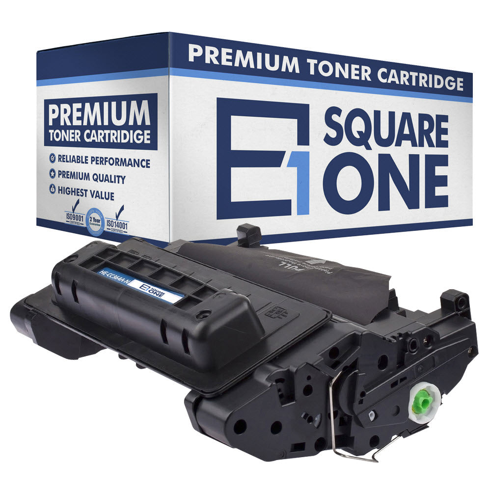 eSquareOne Compatible Toner Cartridge Replacement for HP 64A CC364A (Black, 1-Pack)