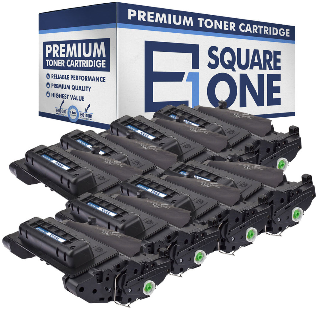 eSquareOne Compatible Toner Cartridge Replacement for HP 64A CC364A (Black, 8-Pack)