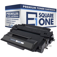 eSquareOne Compatible High Yield Toner Cartridge Replacement for HP 55X CE255X (Black, 1-Pack)
