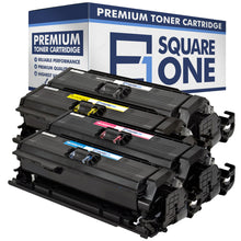 eSquareOne Compatible Toner Cartridge Replacement for HP 647A CE260A 648A CE262A CE261A CE263A (Black, Cyan, Magenta, Yellow)