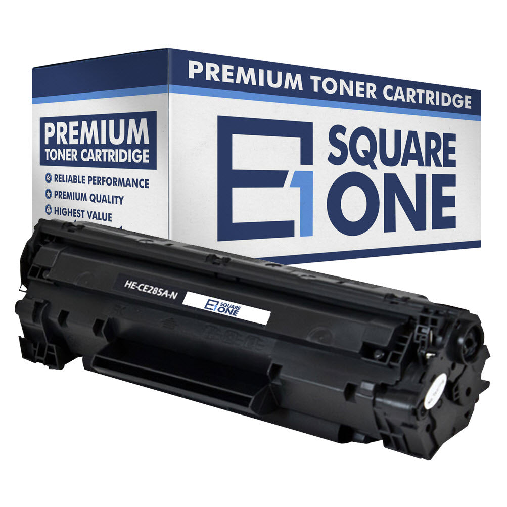 eSquareOne Compatible Toner Cartridge Replacement for HP 85A CE285A (Black, 1-Pack)