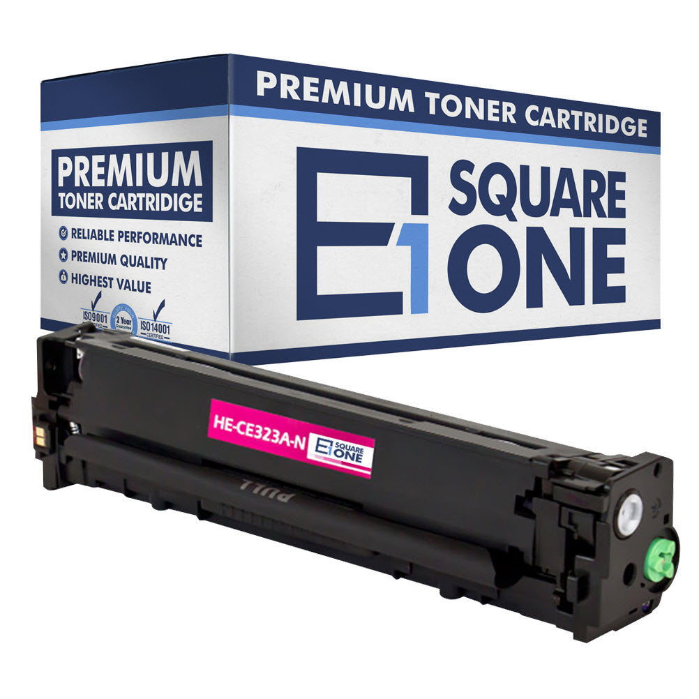 eSquareOne Compatible Toner Cartridge Replacement for HP 128A CE323A (Magenta, 1-Pack)