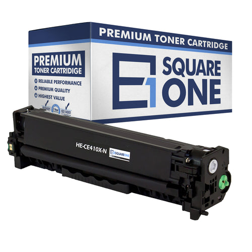 eSquareOne Compatible High Yield Toner Cartridge Replacement for HP 305X CE410X (Black, 1-Pack)