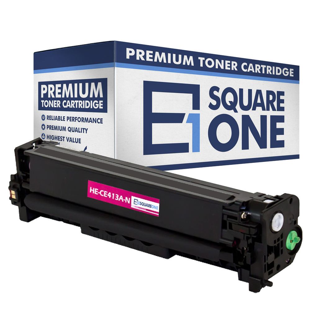 eSquareOne Compatible Toner Cartridge Replacement for HP 305A CE413A (Magenta, 1-Pack)