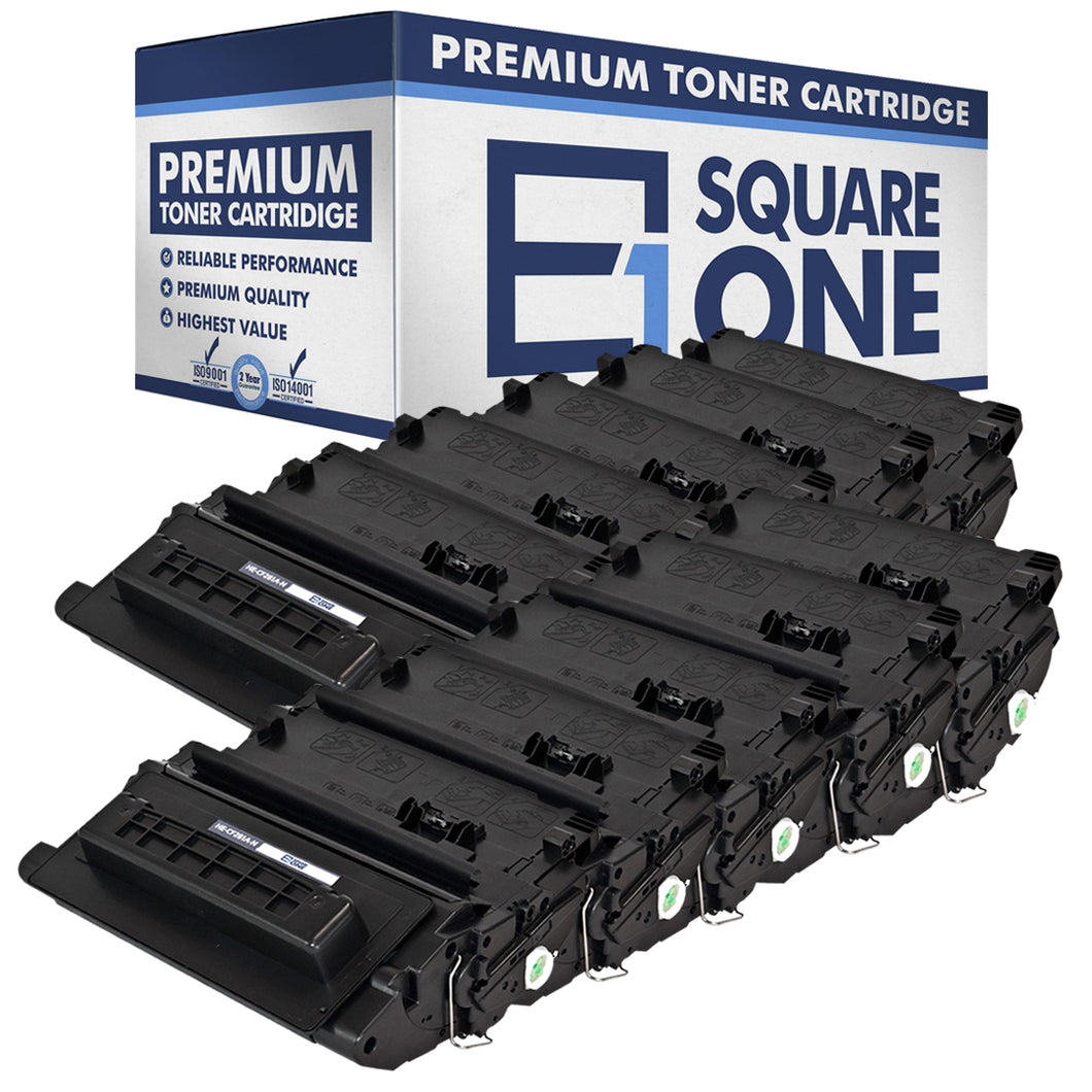 eSquareOne Compatible Toner Cartridge Replacement for HP 81A CF281A (Black, 10-Pack)