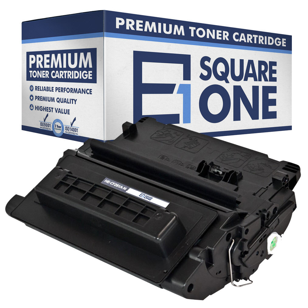 eSquareOne Compatible Toner Cartridge Replacement for HP 81A CF281A (Black, 1-Pack)