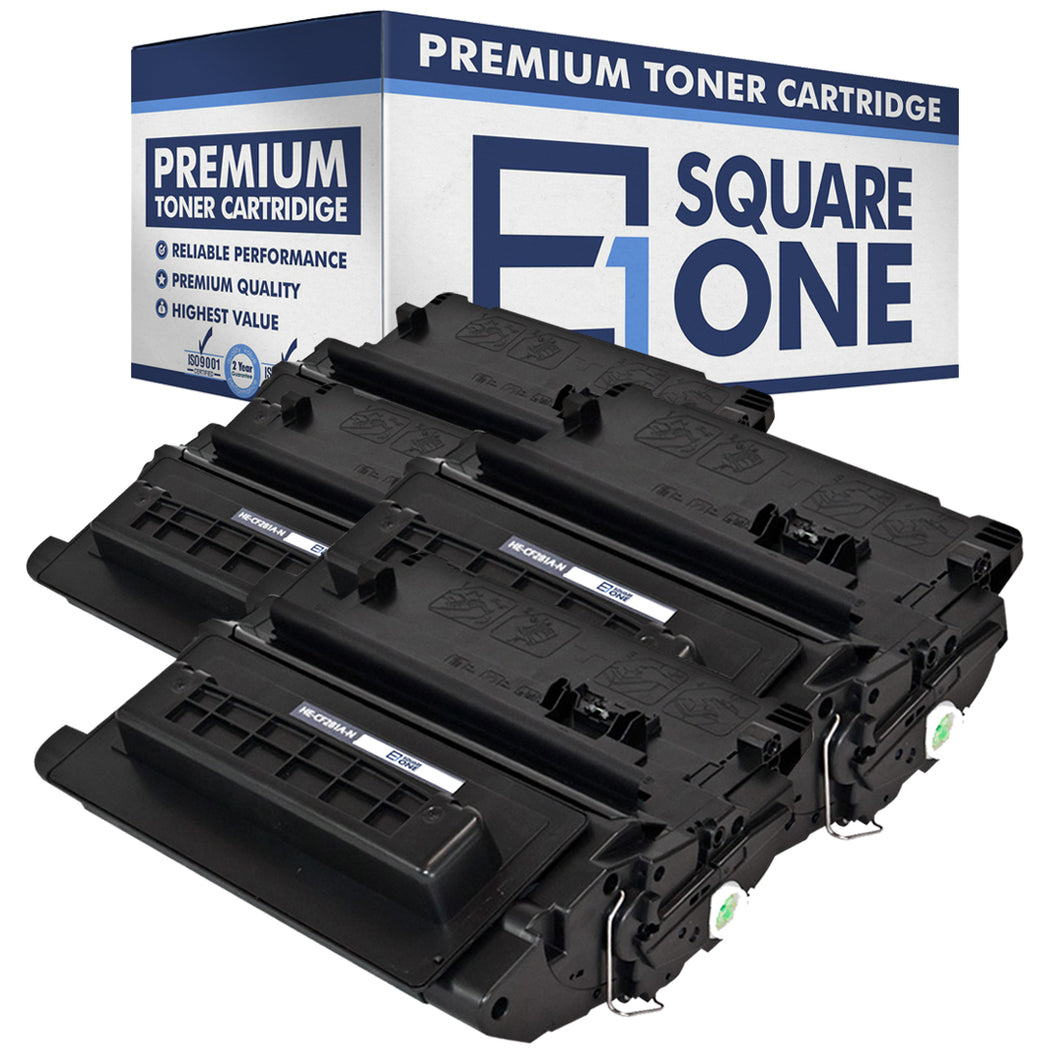 eSquareOne Compatible Toner Cartridge Replacement for HP 81A CF281A (Black, 4-Pack)