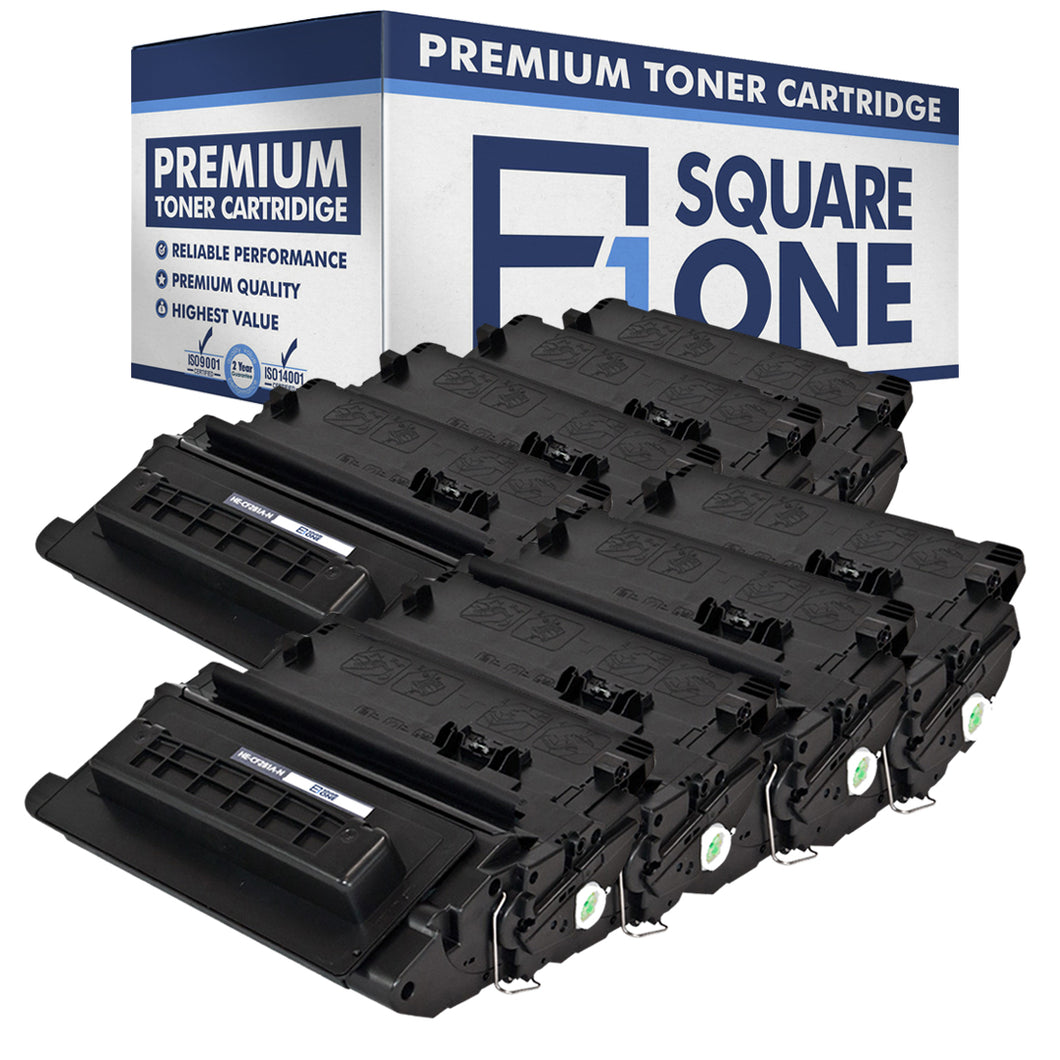 eSquareOne Compatible Toner Cartridge Replacement for HP 81A CF281A (Black, 8-Pack)