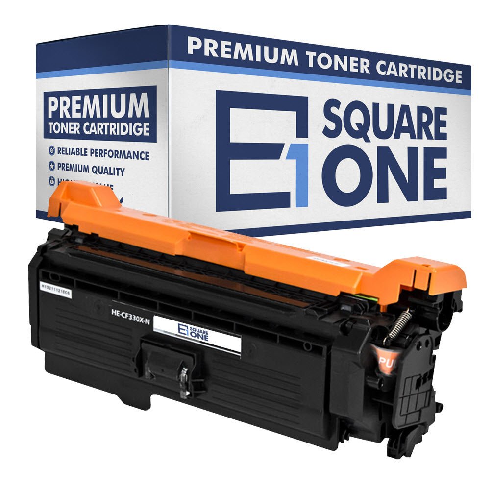 eSquareOne Compatible (High Yield) Toner Cartridge Replacement for HP 654X CF330X (Black, 1-Pack)