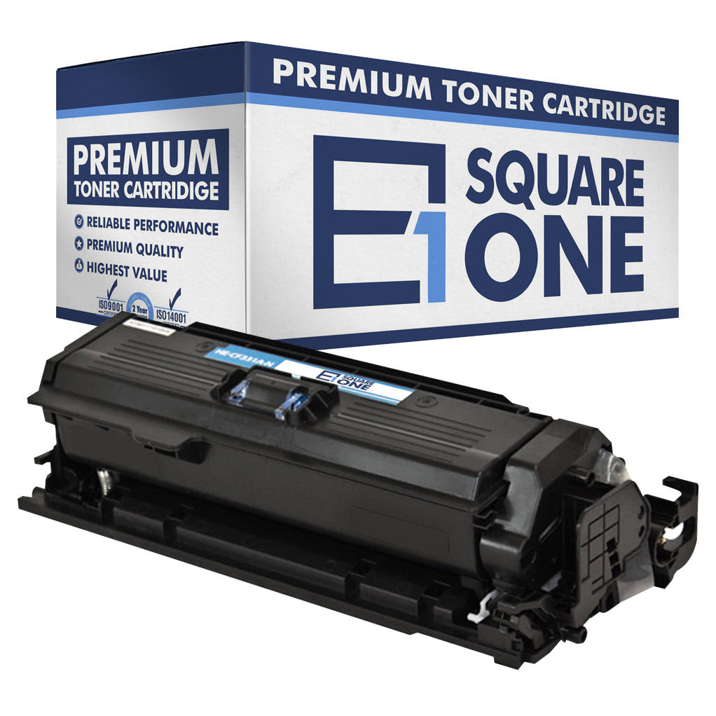 eSquareOne Compatible Toner Cartridge Replacement for HP 654A CF331A (Cyan, 1-Pack)