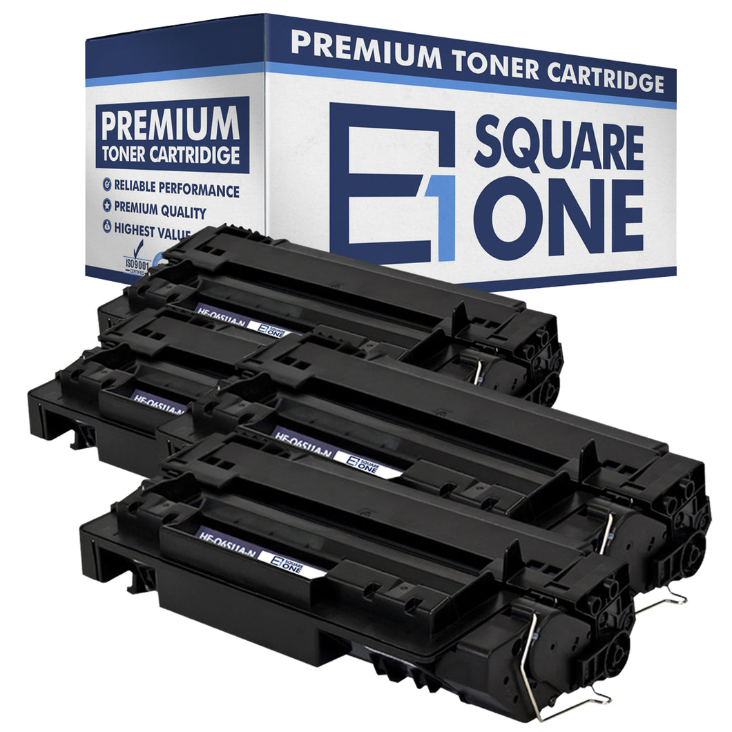 eSquareOne Compatible Toner Cartridge Replacement for HP 11A Q6511A (Black, 4-Pack)
