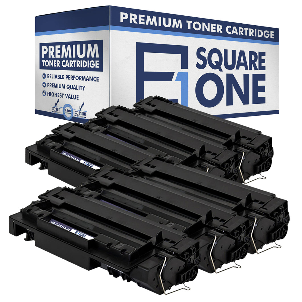 eSquareOne Compatible Toner Cartridge Replacement for HP 11A Q6511A (Black, 6-Pack)