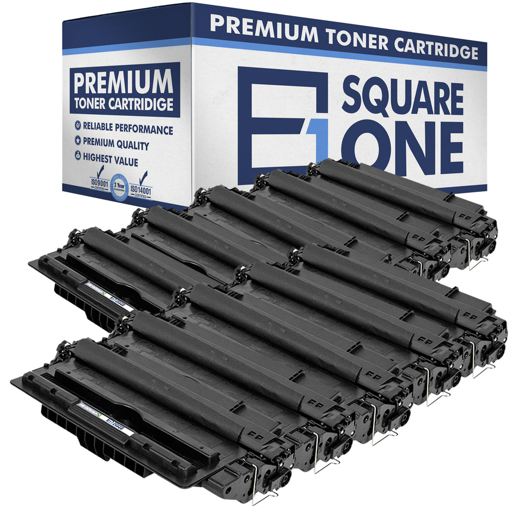 eSquareOne Compatible Toner Cartridge Replacement for HP 16A Q7516A (Black, 10-Pack)