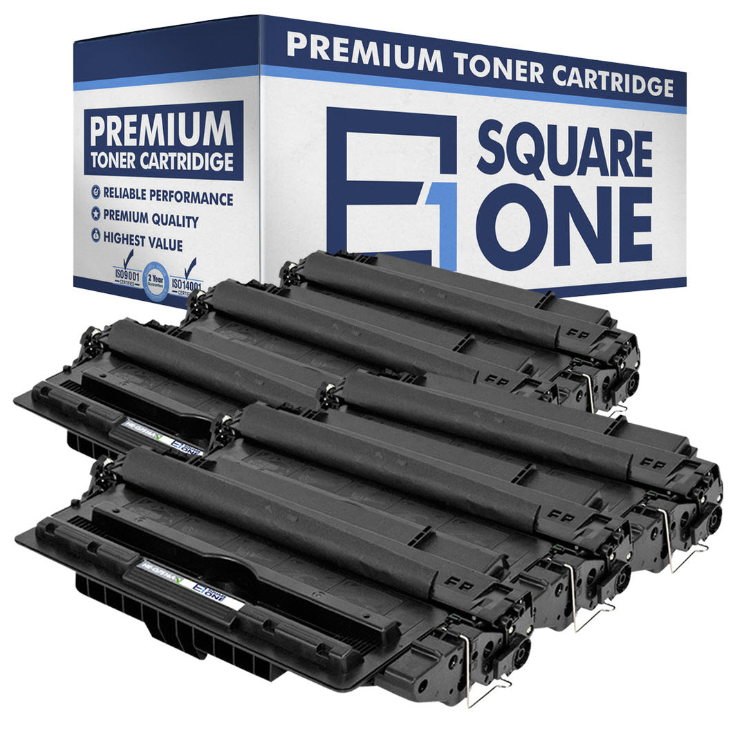 eSquareOne Compatible Toner Cartridge Replacement for HP 16A Q7516A (Black, 6-Pack)