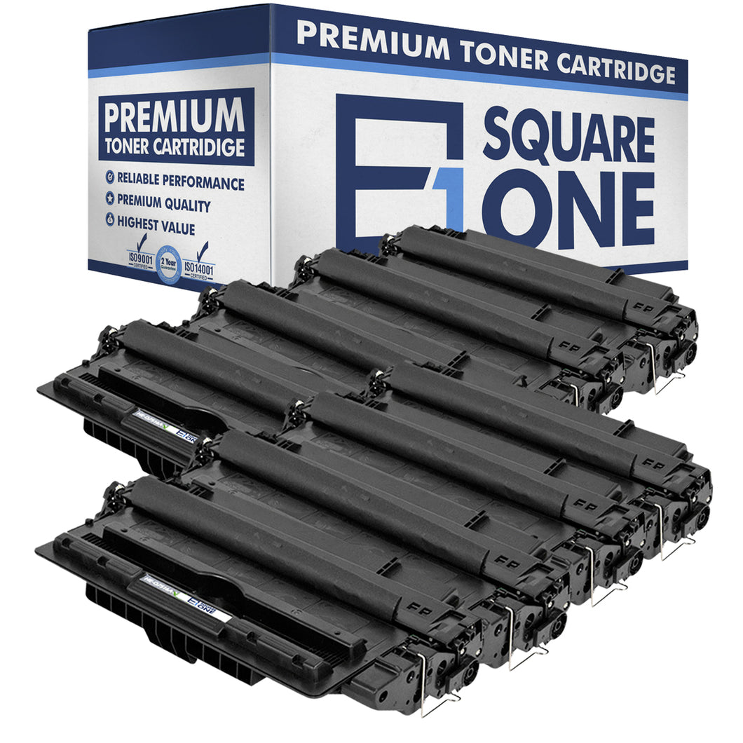 eSquareOne Compatible Toner Cartridge Replacement for HP 16A Q7516A (Black, 8-Pack)