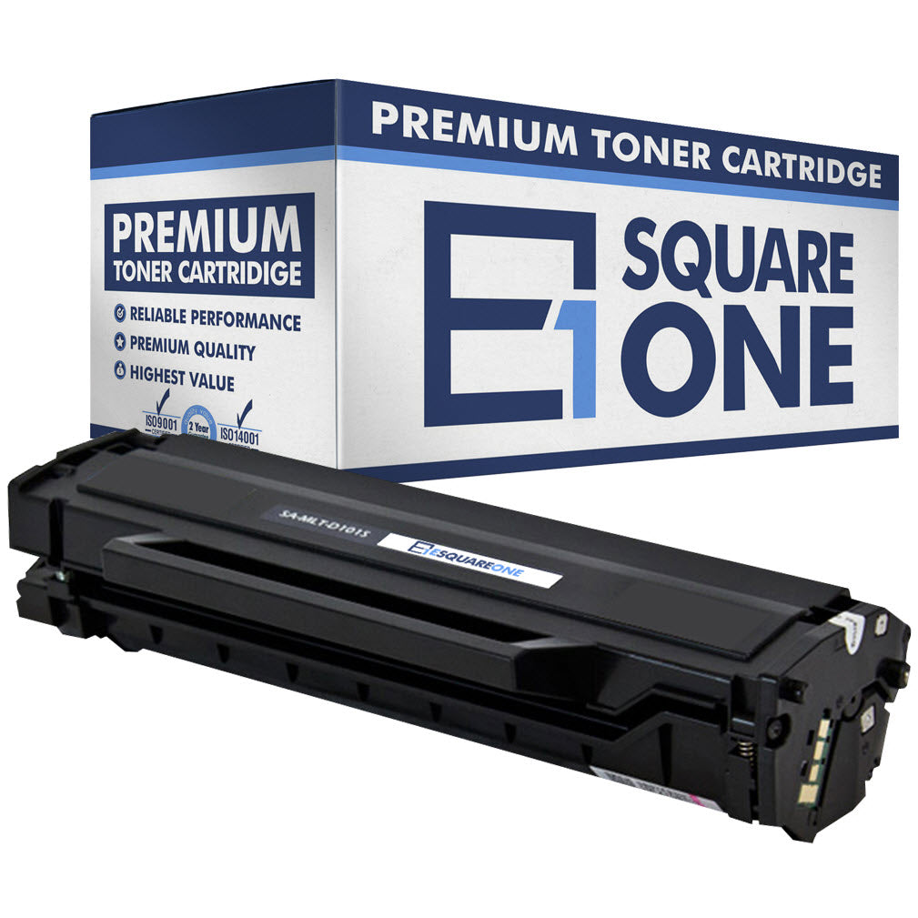 eSquareOne Compatible Toner Cartridge Replacement for Samsung MLT-D101S (Black, 1-Pack)