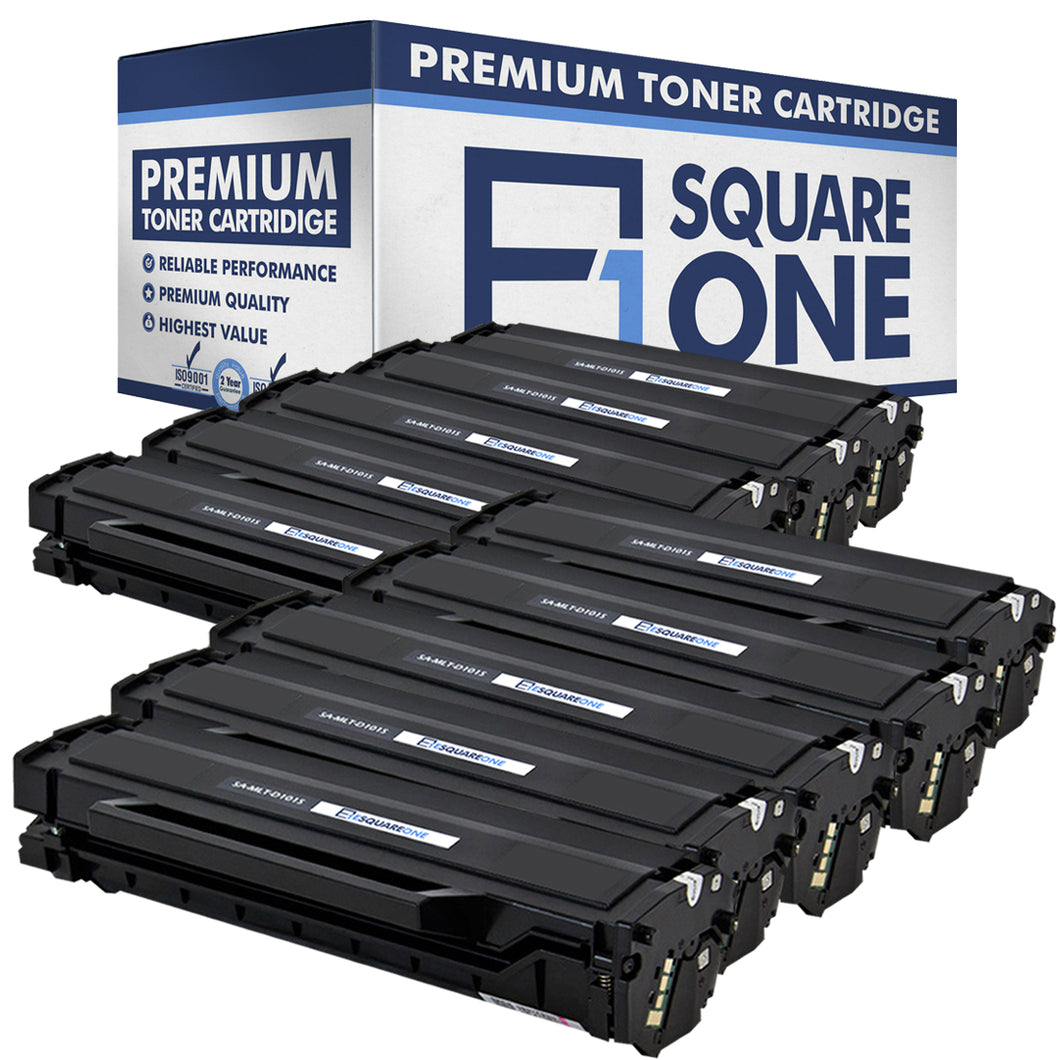 eSquareOne Compatible Toner Cartridge Replacement for Samsung MLT-D101S (Black, 10-Pack)