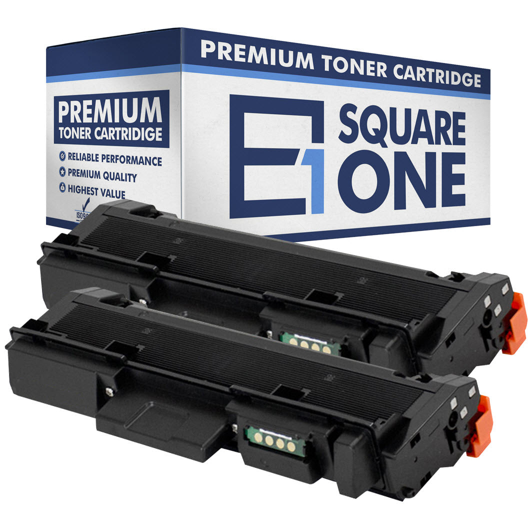eSquareOne Compatible (High Yield) Toner Cartridge Replacement for Samsung MLT-D116L (Black, 2-Pack)