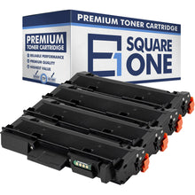 eSquareOne Compatible (High Yield) Toner Cartridge Replacement for Samsung MLT-D116L (Black, 4-Pack)