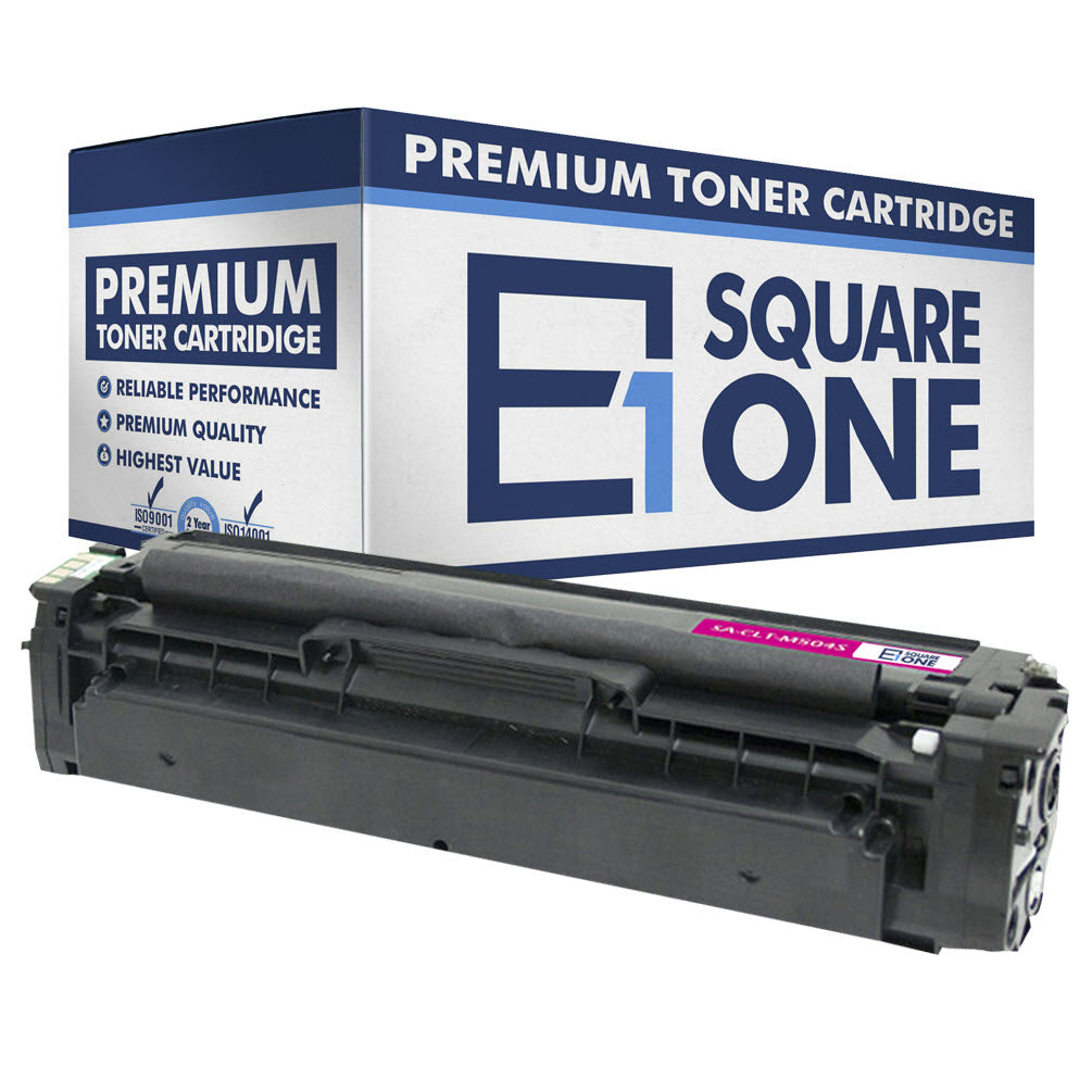 eSquareOne Compatible Toner Cartridge Replacement for Samsung CLT-M504S M504 (Magenta, 1-Pack)