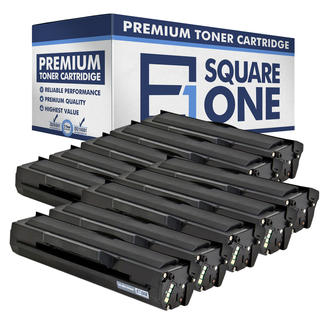 eSquareOne Compatible Toner Cartridge Replacement for Samsung MLT-D104S (Black, 10-Pack)