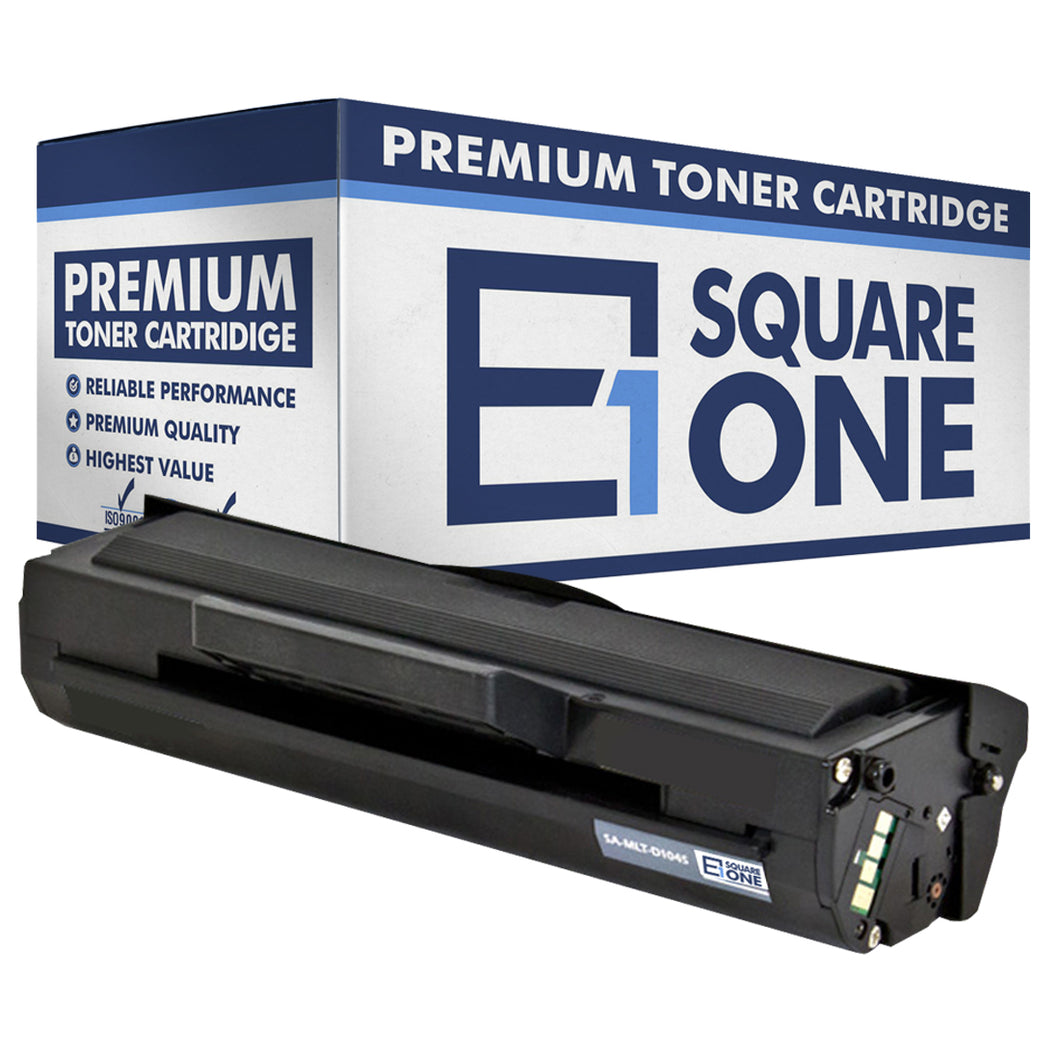 eSquareOne Compatible Toner Cartridge Replacement for Samsung MLT-D104S (Black, 1-Pack)