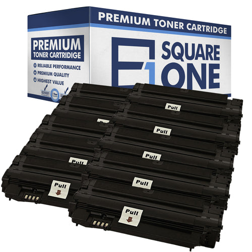 eSquareOne Compatible (High Yield) Toner Cartridge Replacement for Samsung MLT-D105L (Black, 10-Pack)