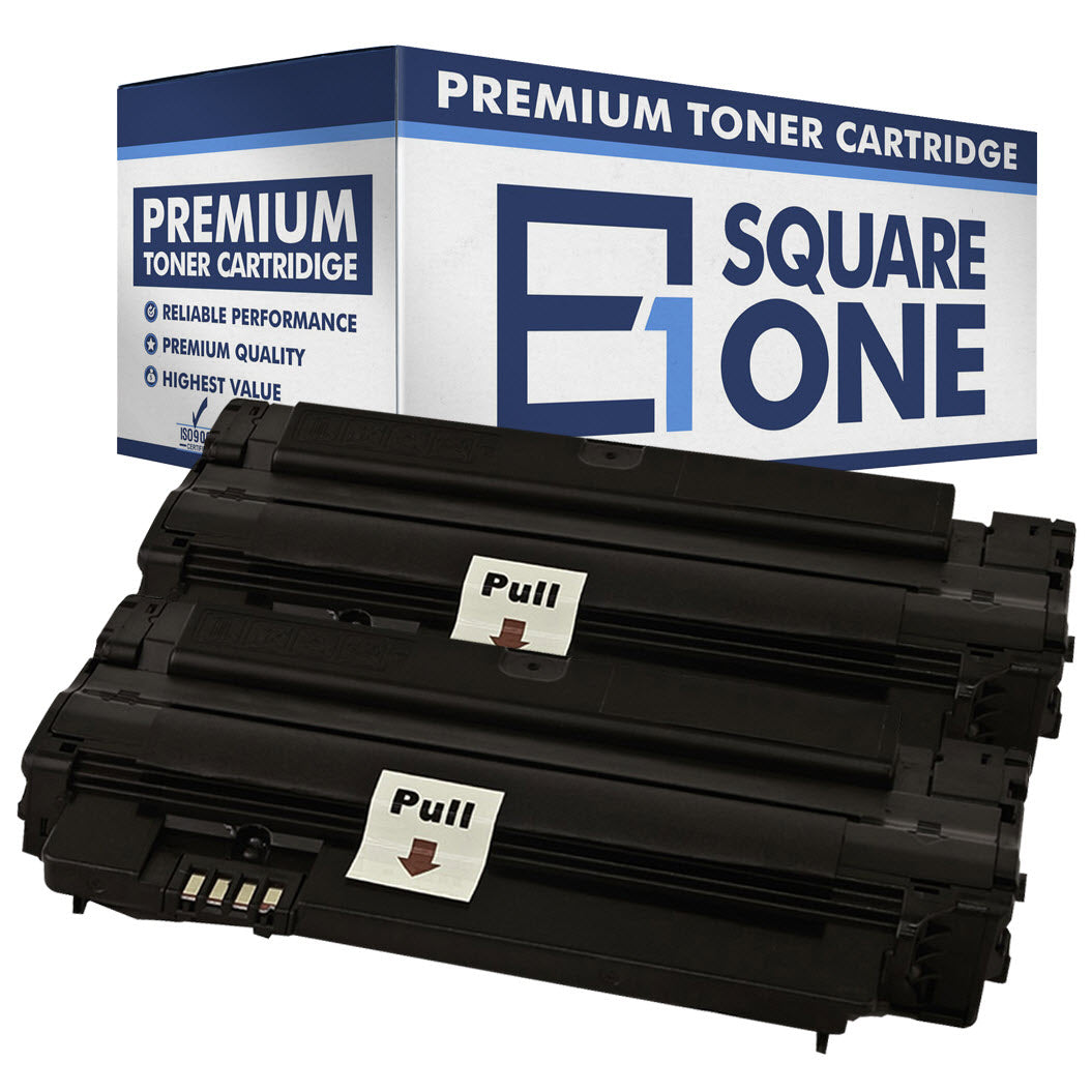 eSquareOne Compatible (High Yield) Toner Cartridge Replacement for Samsung MLT-D105L (Black, 2-Pack)