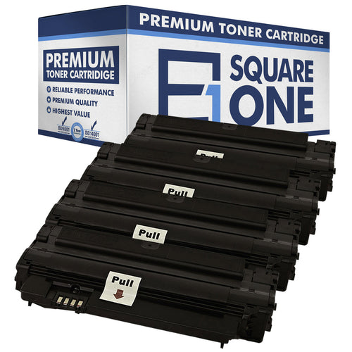 eSquareOne Compatible (High Yield) Toner Cartridge Replacement for Samsung MLT-D105L (Black, 4-Pack)