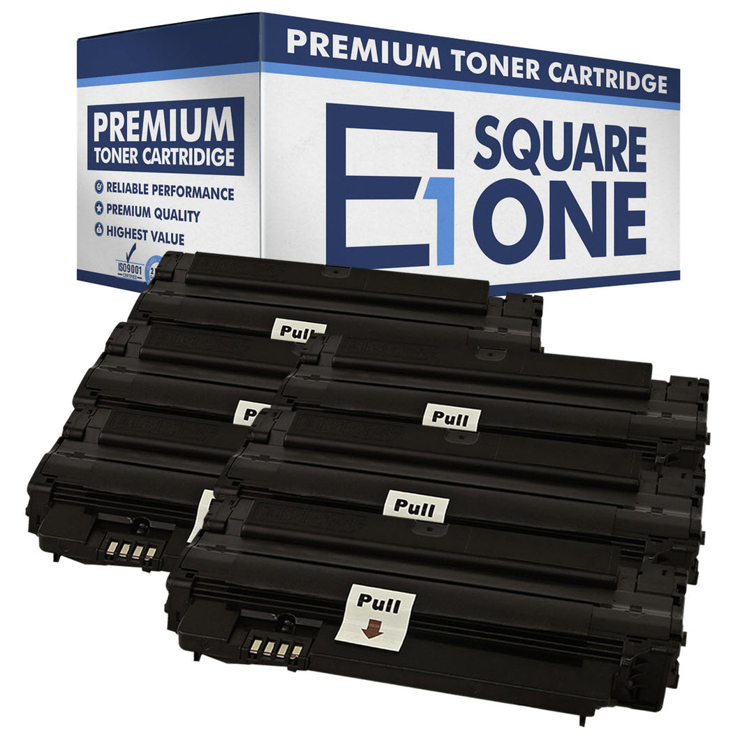 eSquareOne Compatible (High Yield) Toner Cartridge Replacement for Samsung MLT-D105L (Black, 6-Pack)