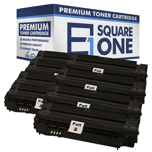 eSquareOne Compatible (High Yield) Toner Cartridge Replacement for Samsung MLT-D105L (Black, 8-Pack)