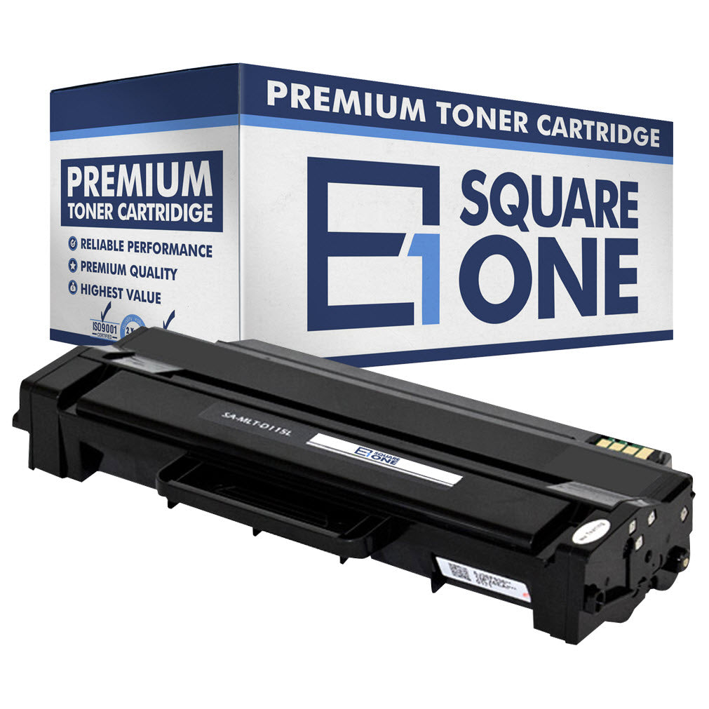 eSquareOne Compatible (High Yield) Toner Cartridge Replacement for Samsung MLT-D115L (Black, 1-Pack)