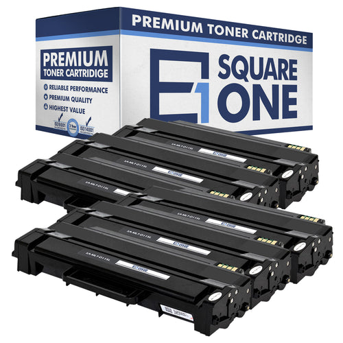 eSquareOne Compatible (High Yield) Toner Cartridge Replacement for Samsung MLT-D115L (Black, 6-Pack)