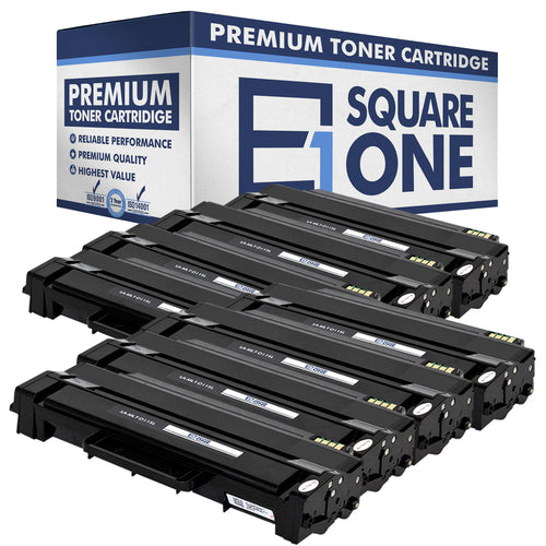 eSquareOne Compatible (High Yield) Toner Cartridge Replacement for Samsung MLT-D115L (Black, 8-Pack)