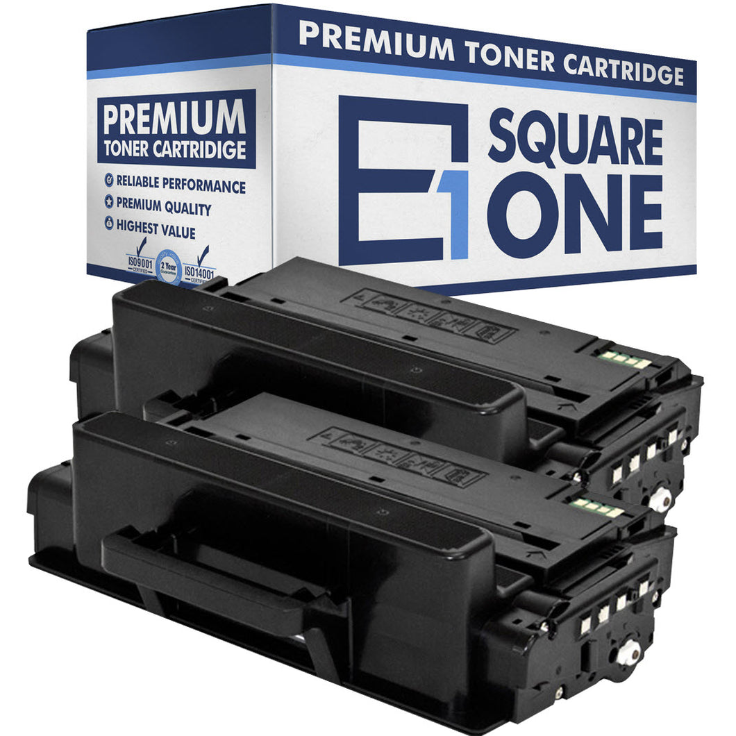 eSquareOne Compatible (High Yield) Toner Cartridge Replacement for Samsung MLT-D203L (Black, 2-Pack)
