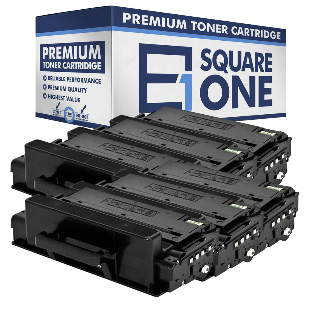 eSquareOne Compatible (High Yield) Toner Cartridge Replacement for Samsung MLT-D203L (Black, 6-Pack)