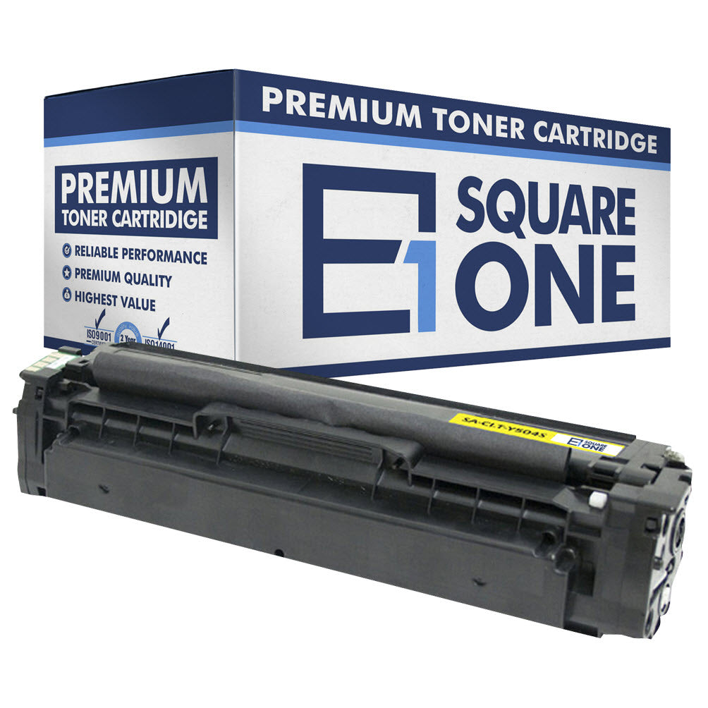 eSquareOne Compatible Toner Cartridge Replacement for Samsung CLT-Y504S Y504 (Yellow, 1-Pack)