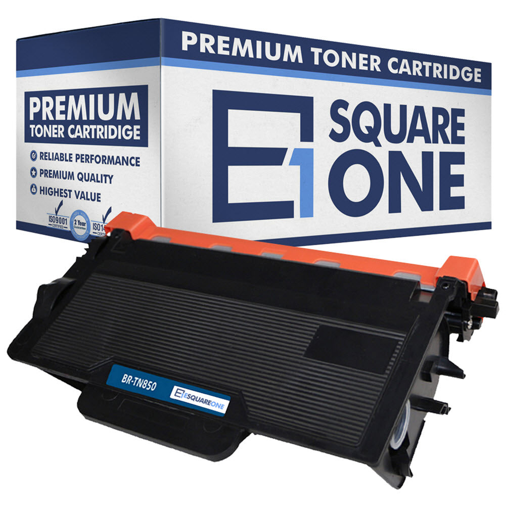 eSquareOne Compatible High Yield Toner Cartridge Replacement for Brother TN850 TN820 (Black, 1-Pack)