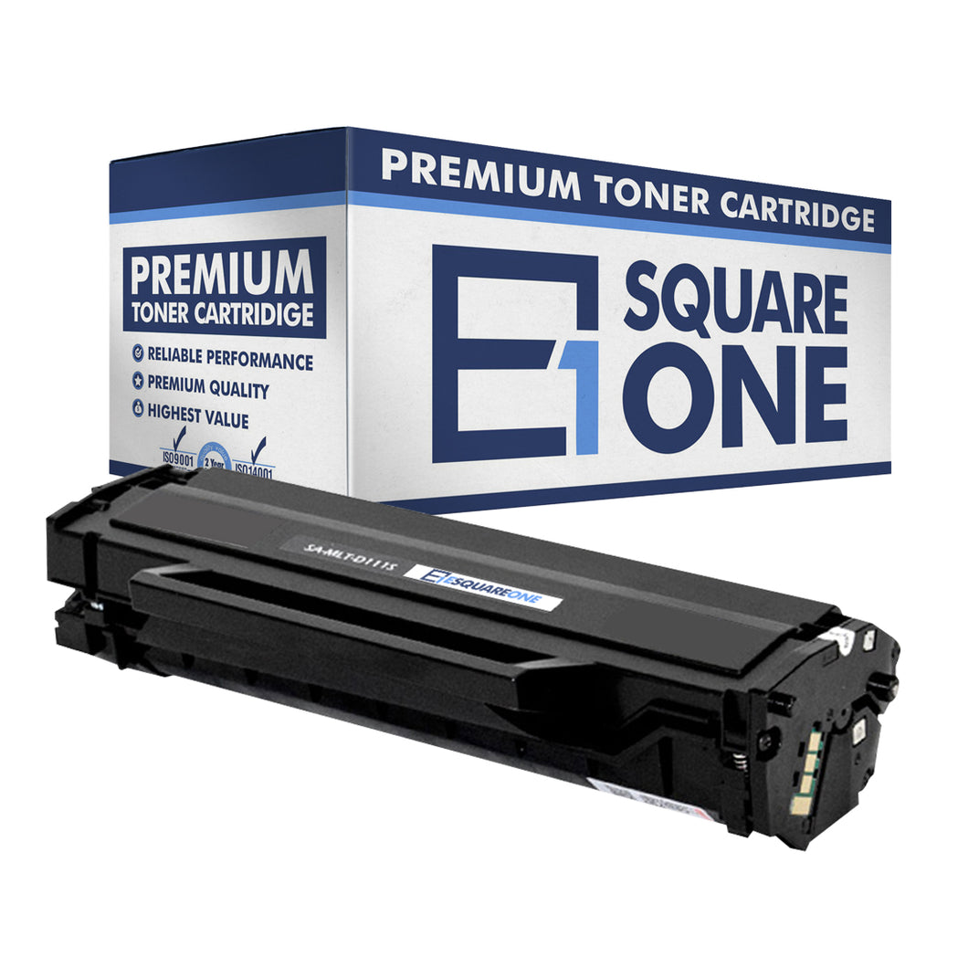 eSquareOne Compatible Toner Cartridge Replacement for Samsung 111S MLT-D111S (Black, 1-Pack)