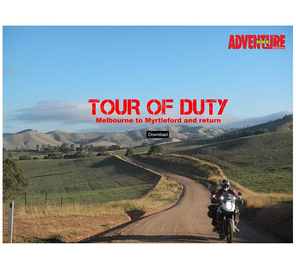 Tour Of Duty - Downloadable Ride by Adventure Rider - Melbourne to Myrtleford