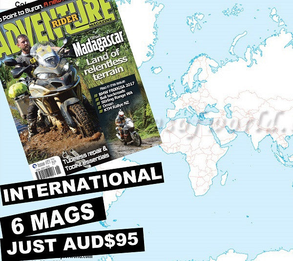 Adventure Rider 1 Year Subscription International
