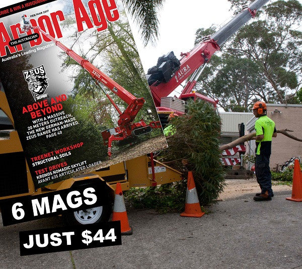 The Australian Arbor Age 1 Year Subscription