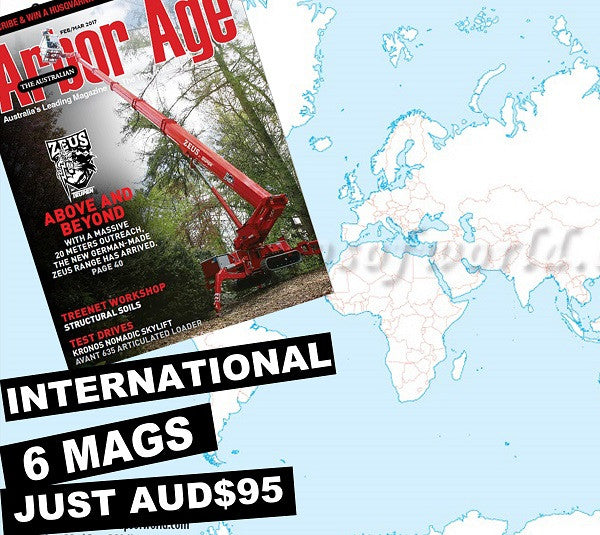 The Australian Arbor Age 1 Year Subscription - International