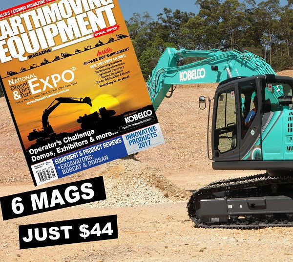 Earthmoving Equipment 1 Year Subscription