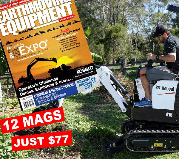 Earthmoving Equipment 2 Year Subscription