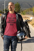 This Guy is One Awesome Dad Mens Graphic Novelty Fathers Day Gift Funny T Shirt - eBollo.com