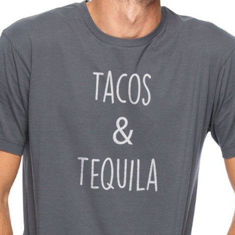 Tacos & Tequila Men's T-Shirt