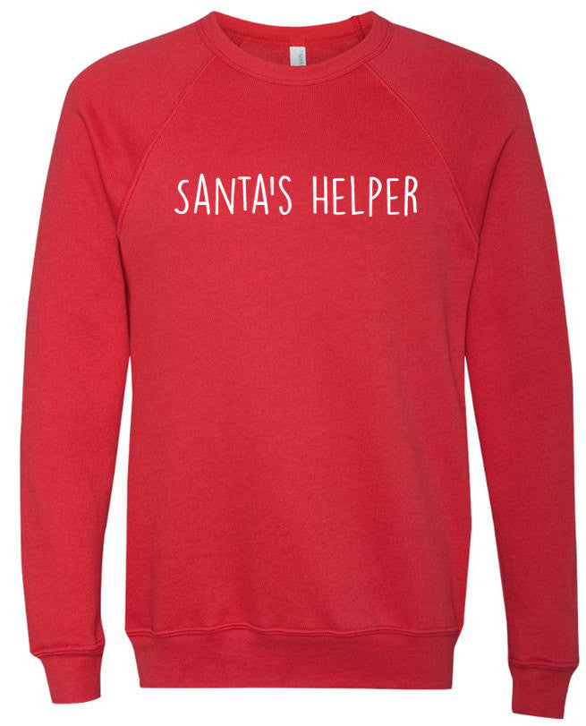 Santa's Helper Men's Crewneck Sweatshirt - eBollo.com