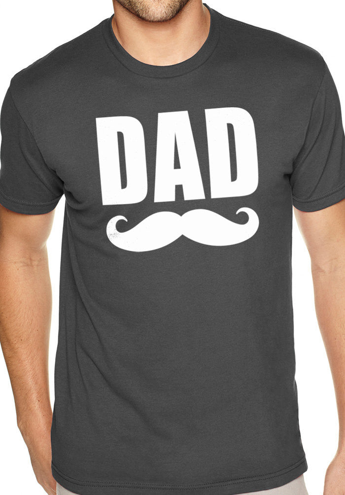 Dad Mustache Men's T-Shirt - eBollo.com