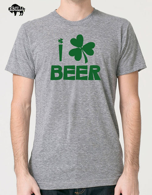I Love Beer Men's T-Shirt - eBollo.com